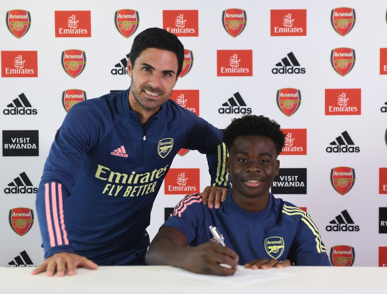 Saka Signs New Long-Term Contract At Arsenal