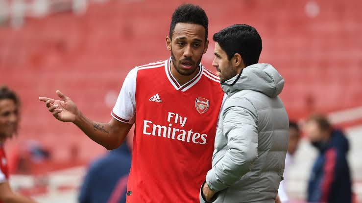 Arteta Confident Aubameyang Will Sign New Contract