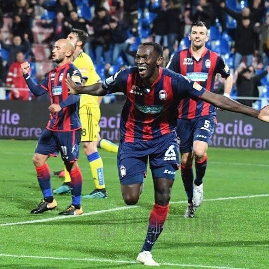 Crotone Boss Stroppa Thumbs Up Hat-Trick Hero Simy Nwankwo
