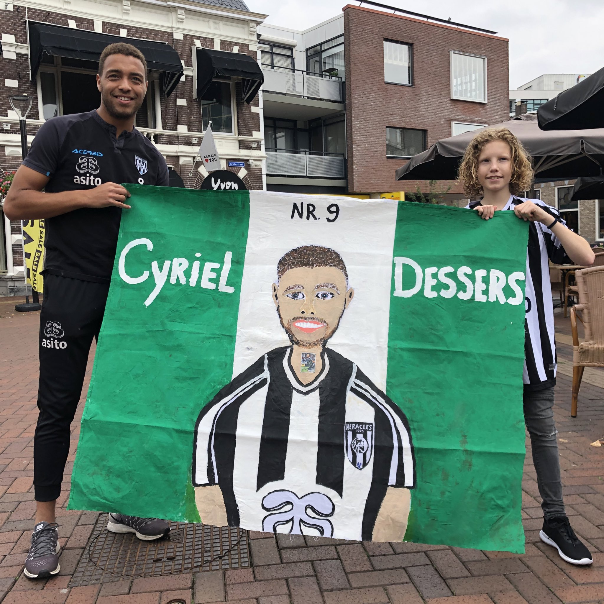 Heracles Almelo  Chief Gilissen: Dessers Ready To Take Next Step  In His Career