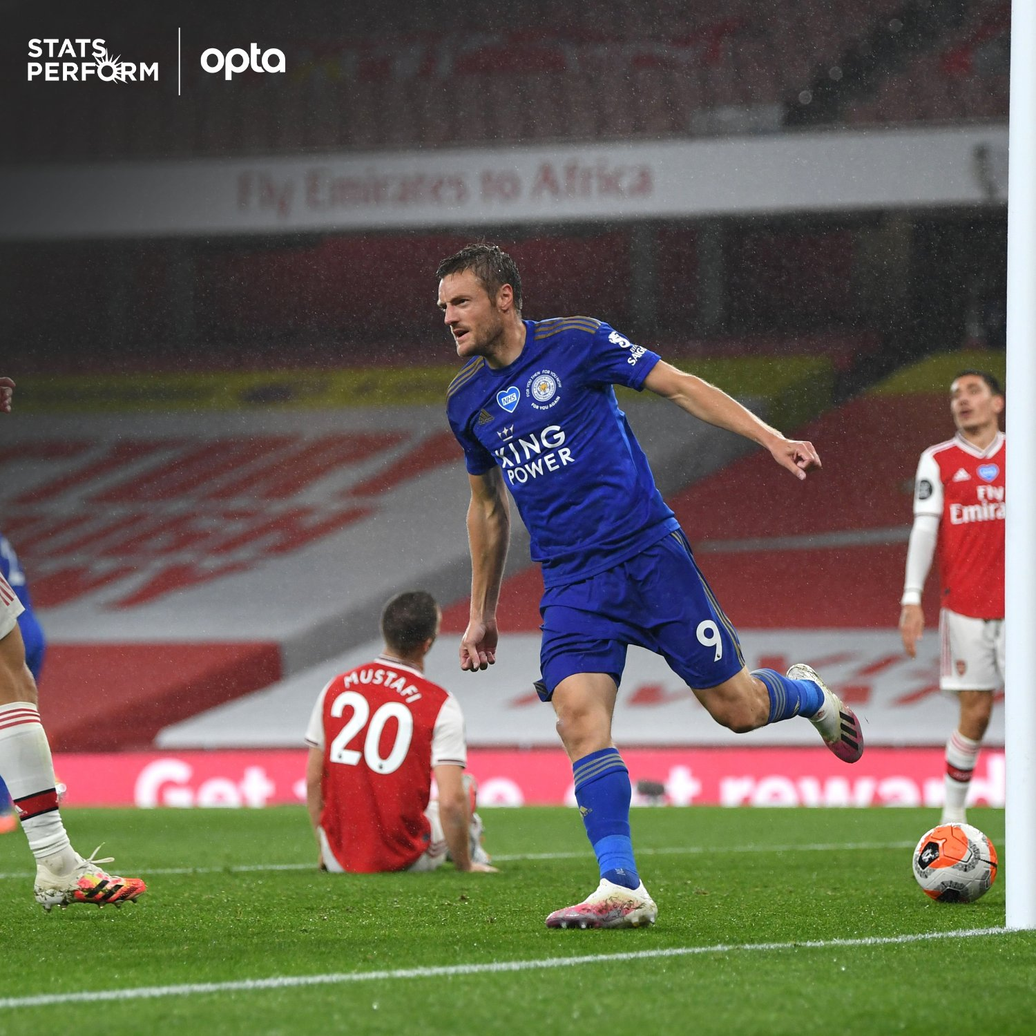 Premier League: Saka Bags Assist Again, Ndidi, Iheanacho In Action As Leicester Force 10-Man Arsenal To Draw