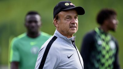 Rohr Arrives Nigeria Ahead AFCON Qualifiers