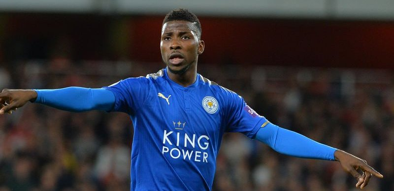 'I'm Happy Here'- Iheanacho Rules Out   Leicester City  Exit