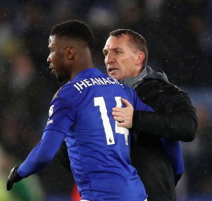 Iheanacho: It's A Joy To Play Under Rodgers