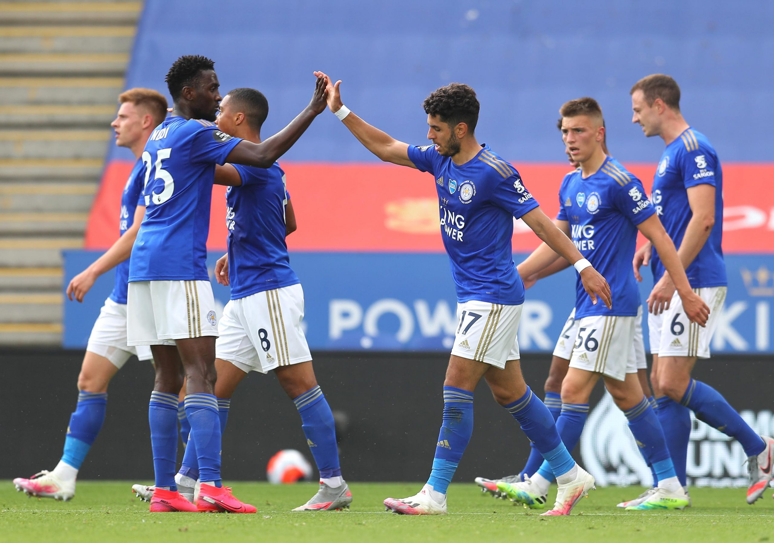 EPL:  Ndidi Stars , Iheanacho Benched In Leicester's Win Vs Sheffield;  Iwobi Features For Everton