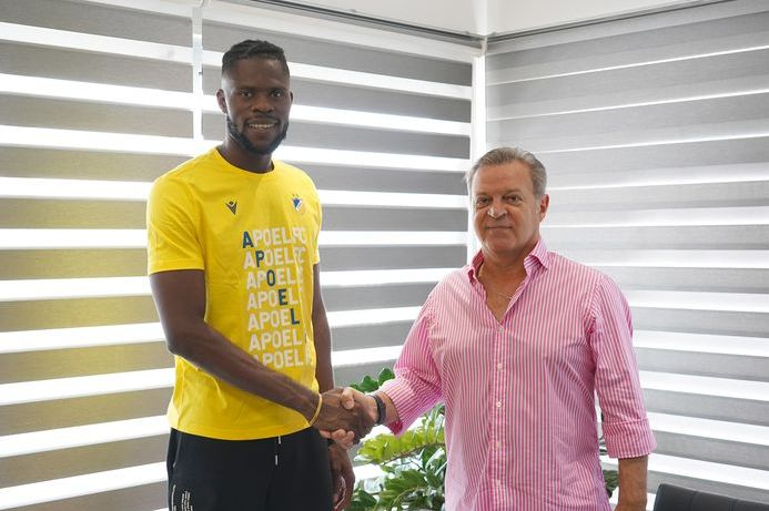 Uzoho Joins Cypriot Club APOEL On Three-Year Contract