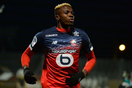 Revealed: Napoli Paid €50m Plus Player for Osimhen's Transfer From Lille