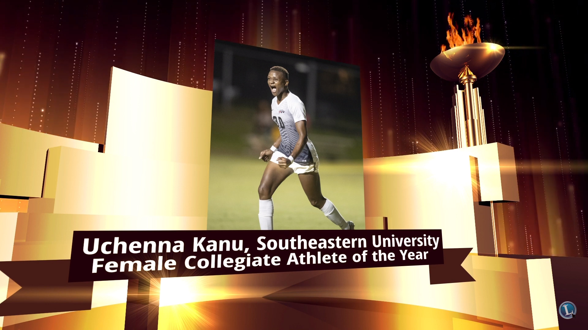 Super Falcons Striker Kanu Bags Award In US