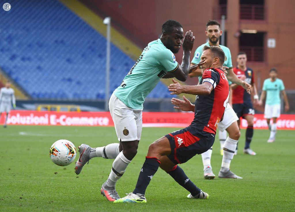 Moses Bags Fifth Serie A Assists In Inter Milan's Win At Genoa