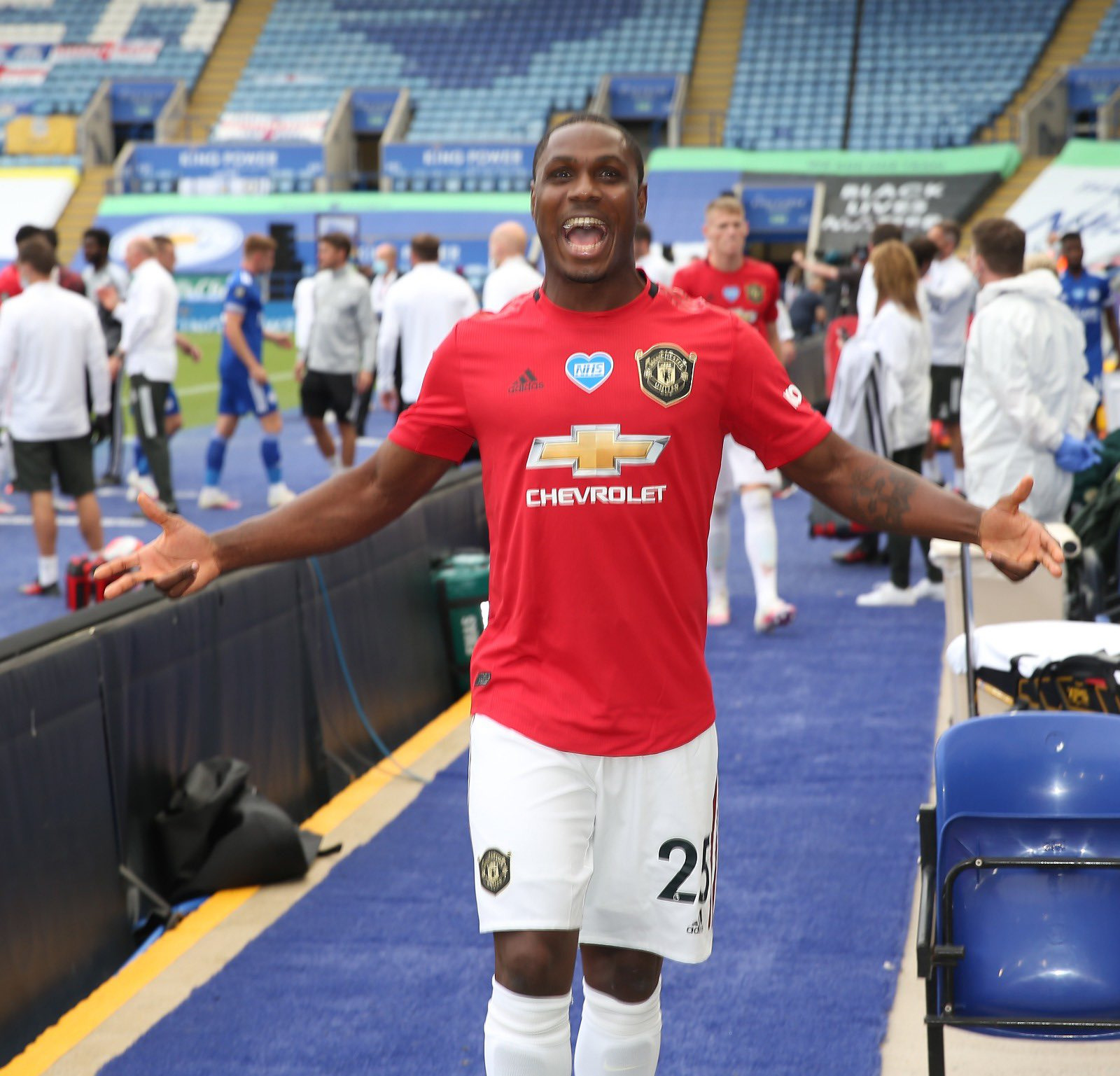 Manchester United's Champions League Qualification Excites Ighalo