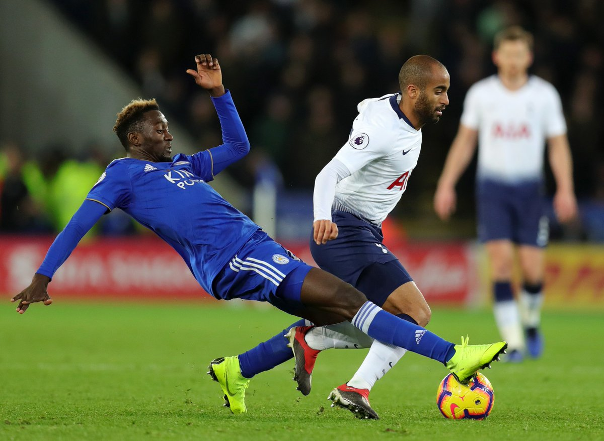 EPL: Ndidi, Wan-Bissaka Share Top Tackler Accolade