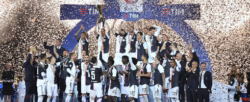 Juventus Win Ninth Straight  Serie A Title