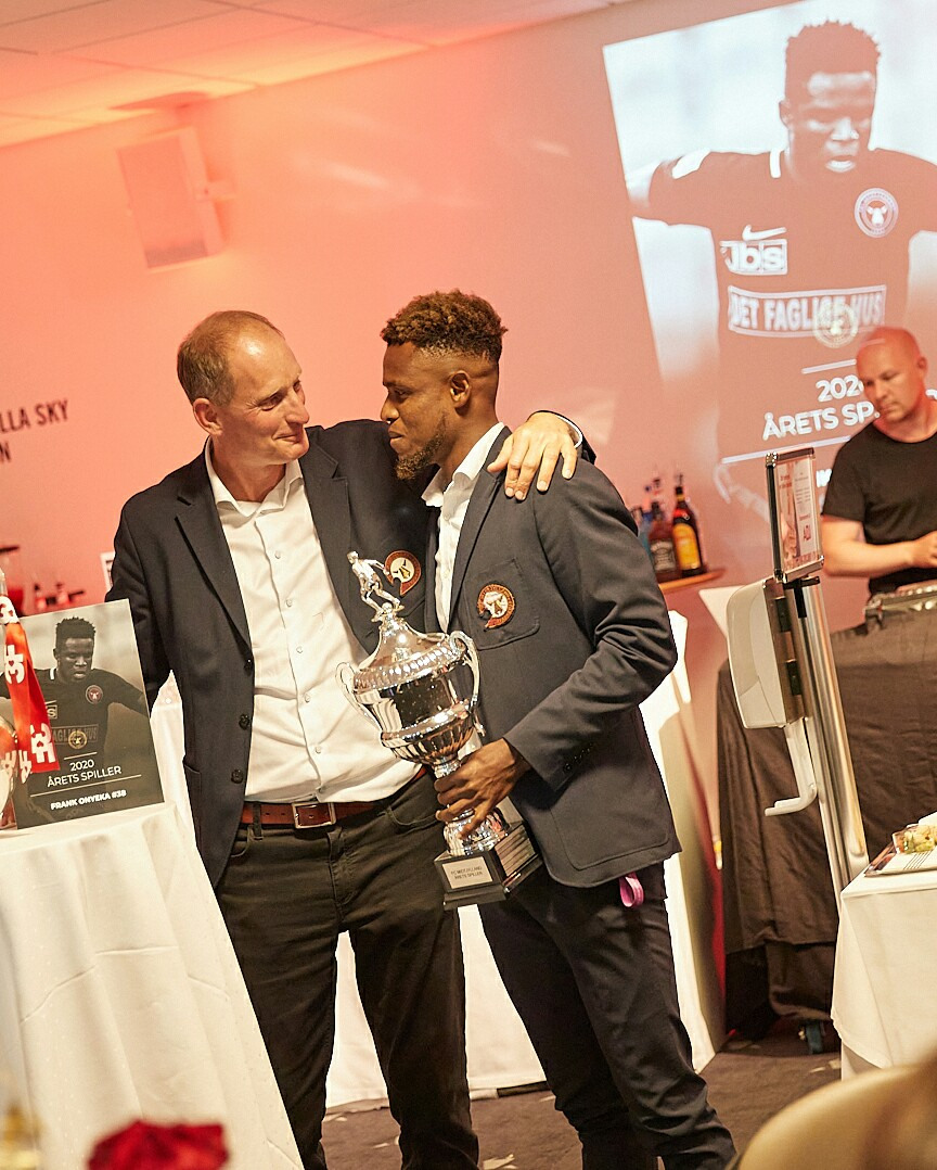 Nigerian Midfielder Onyeka Voted Player Of The Season In Denmark