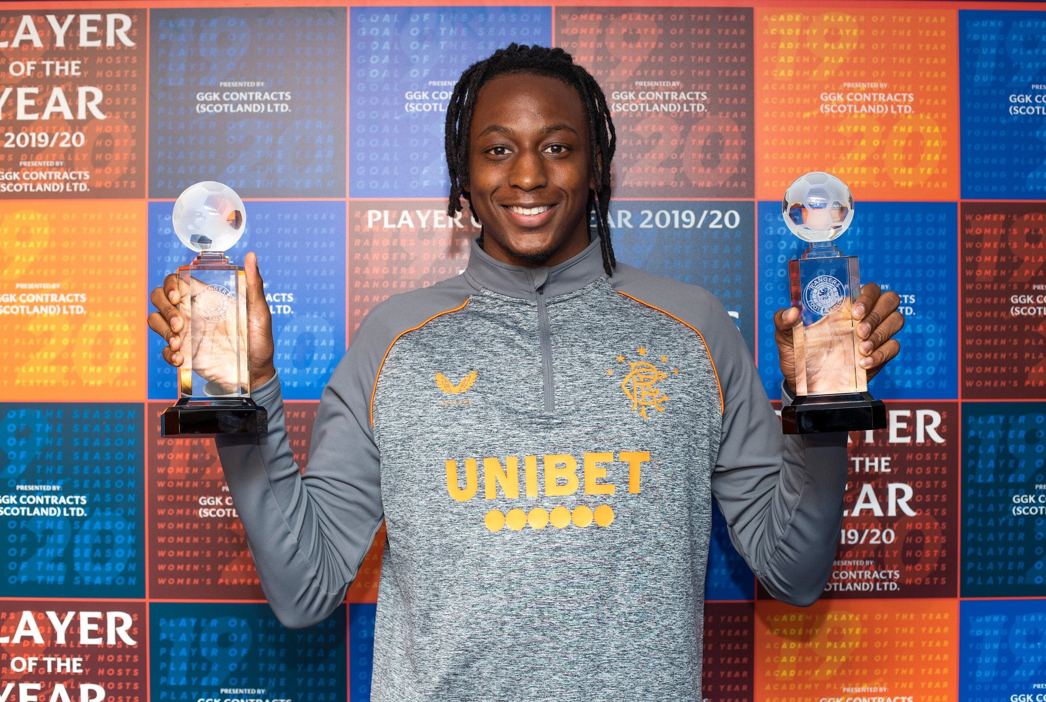 Aribo Wins Rangers' Young Player Of The Year Award