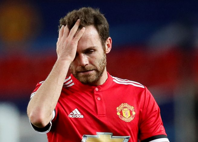 Manchester United Star Mata Almost In £1m Debt
