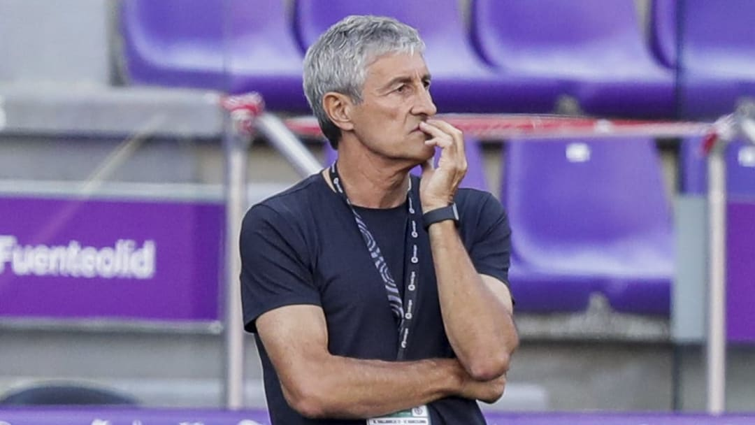 Setien Fears Barcelona Sack After Osasuna Defeat