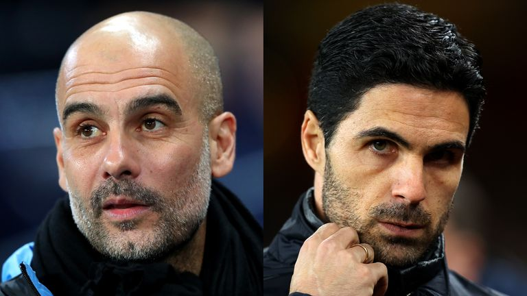 Guardiola Calls For Patience With Arteta Amid Arsenal's Poor Form