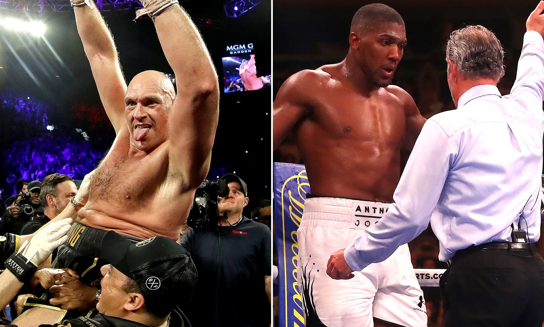 Fury Ranked Best Heavyweight Boxer Ahead of Joshua