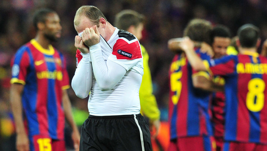Rooney Blames Ferguson For Man United's UCL Final Defeats To Barcelona