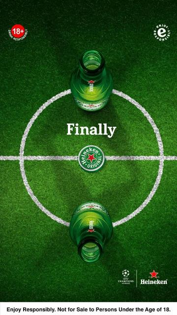 Heineken Announces The Ultimate Fan Of The Match As UCL Comes To A Dramatic End
