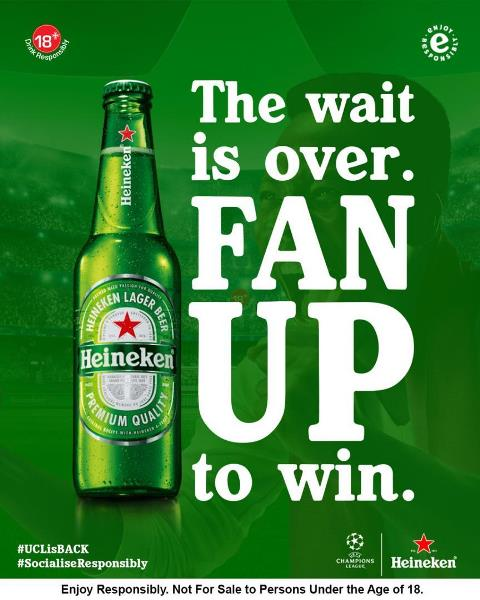 Heineken Rewards Football Fans With The 'Fan Of The Match' Competition