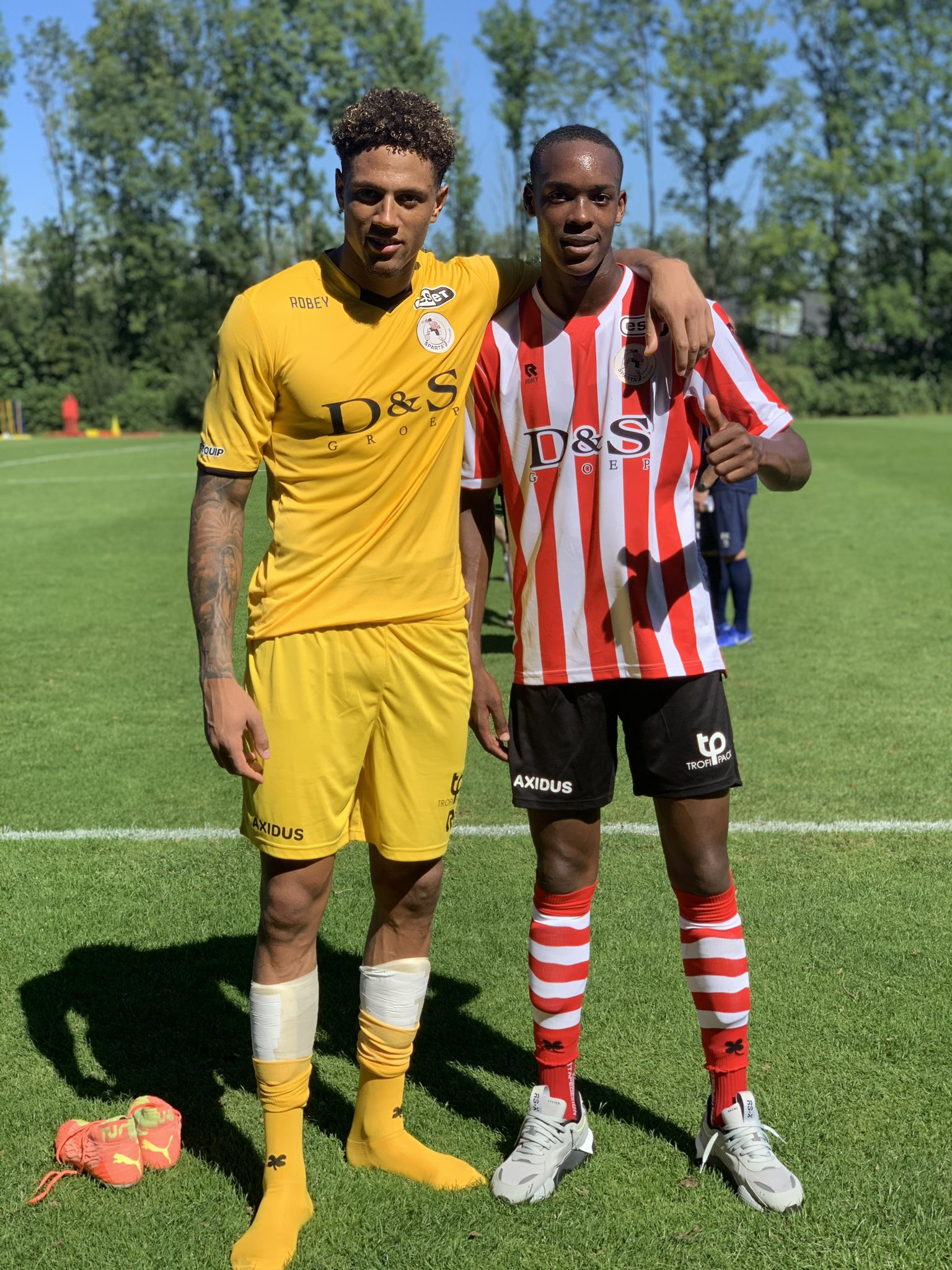 Okoye Delighted To Make Winning Debut With Sparta Rotterdam