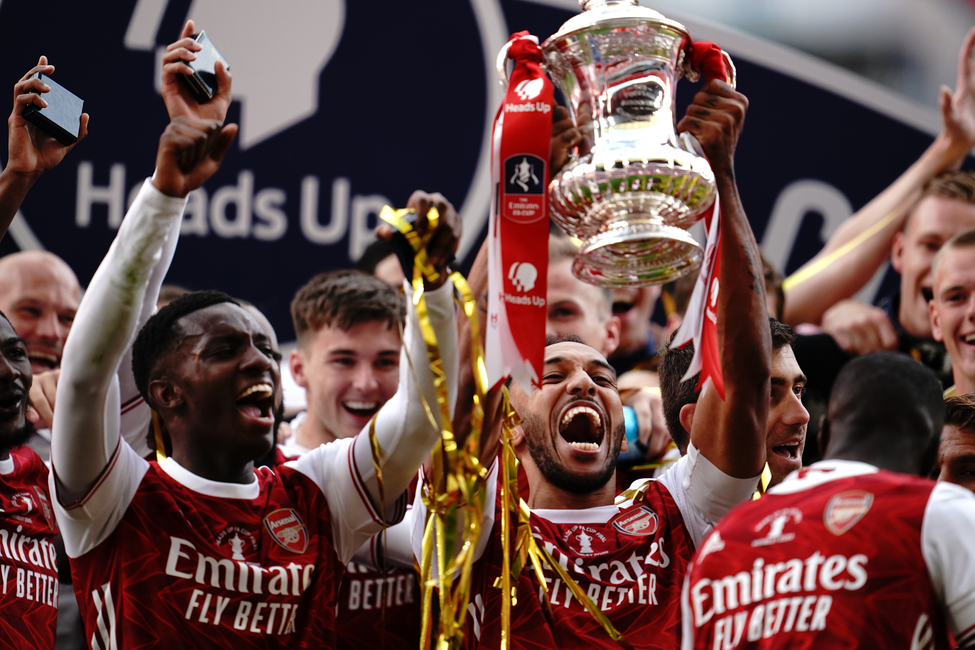 Update: Aubameyang's Brace Sinks Chelsea As Arsenal Clinch Record FA Cup Title