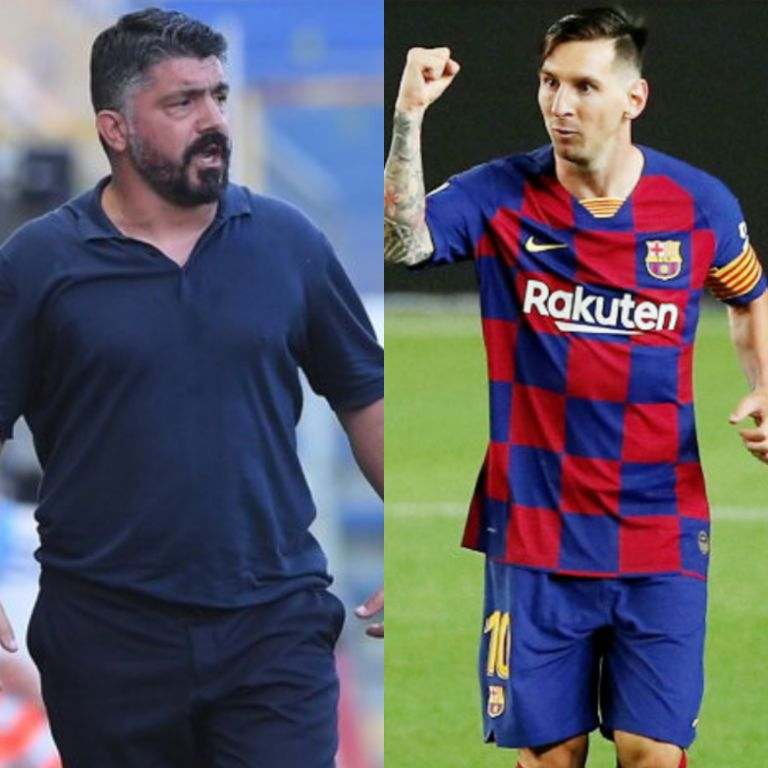 Barca vs Napoli: I'll Only Mark Messi In My Dreams Or On PlayStation – Gattuso