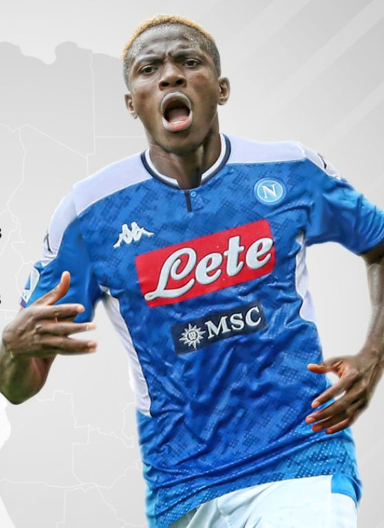 Osimhen Is 35th Nigerian To Play In Serie A With Napoli Switch