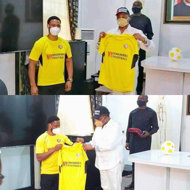 Governor Obiano Hints At Birth Of Anambra Bombers FC; State FA Caretaker Committee Starts Work