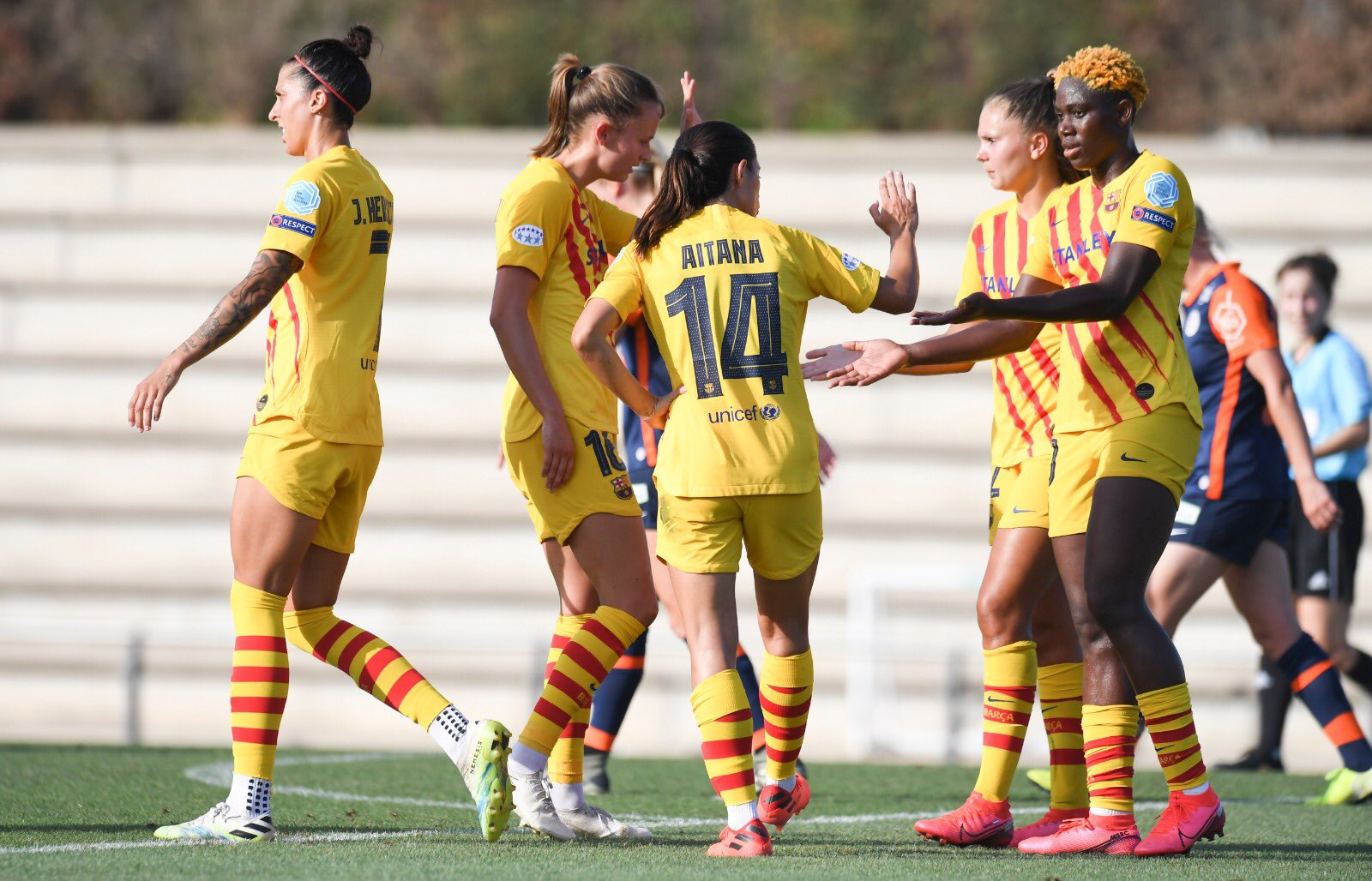 Oshoala On Target Again In Barcelona Women's Win Vs Montpellier In Friendly Game