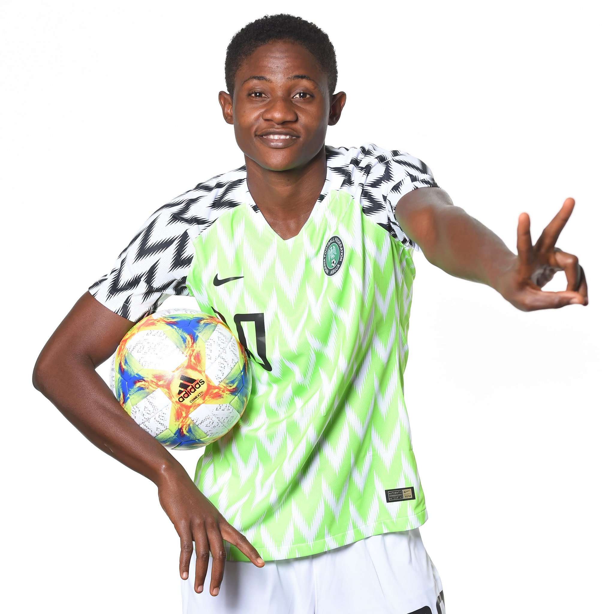 FIFA Celebrates Super Falcons Star Okeke At 20