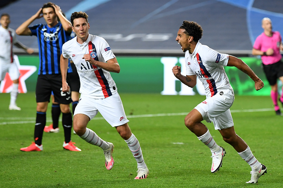 PSG Bag Dramatic Win Against Atalanta, Secure First UCL Semi-final Spot In 25 Years