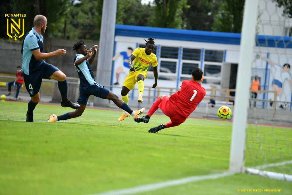 Simon On Target In Nantes' Friendly Win Against French Club
