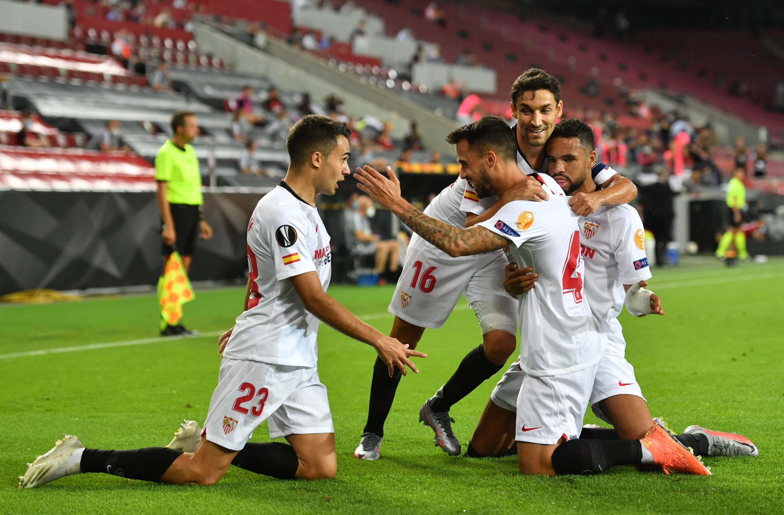 Ighalo Subbed On As Sevilla Beat Man United To Reach Record Europa League Final