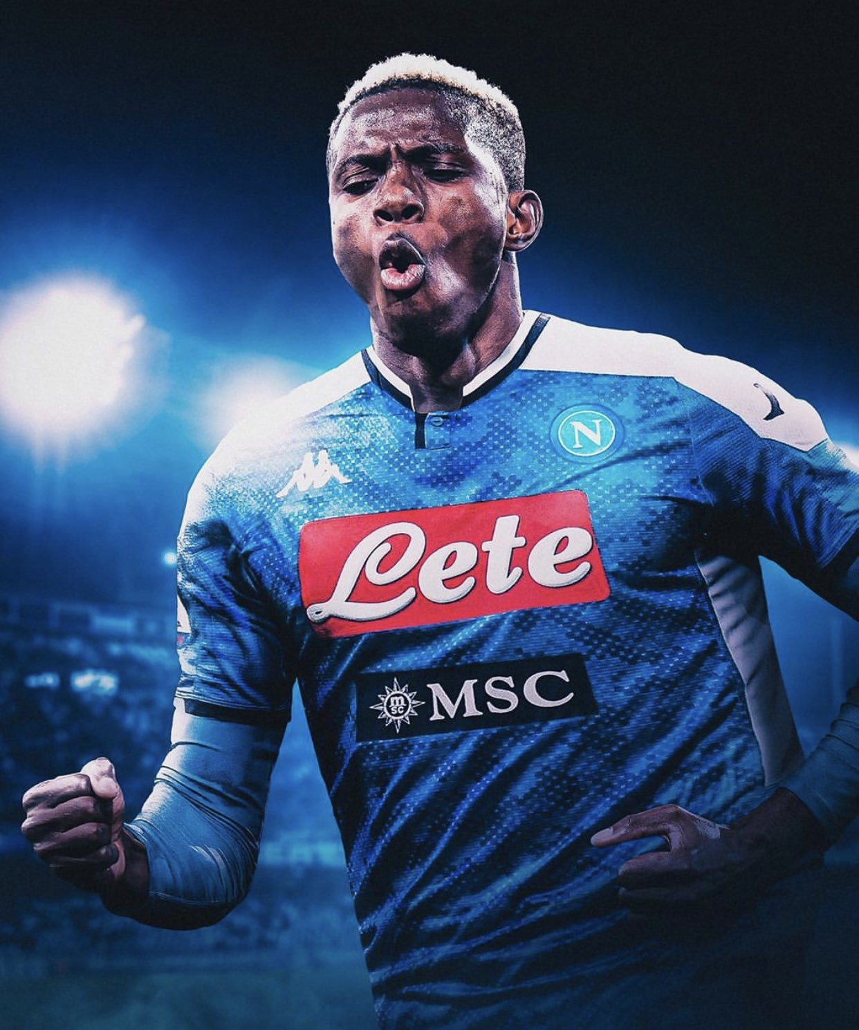 Osimhen Undergoes Covid-19 Test At Napoli; Gattuso Adopts 4-2-3-1 For Eagles Star