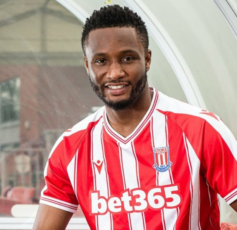 Mikel Joins Stoke City On One-Year Deal