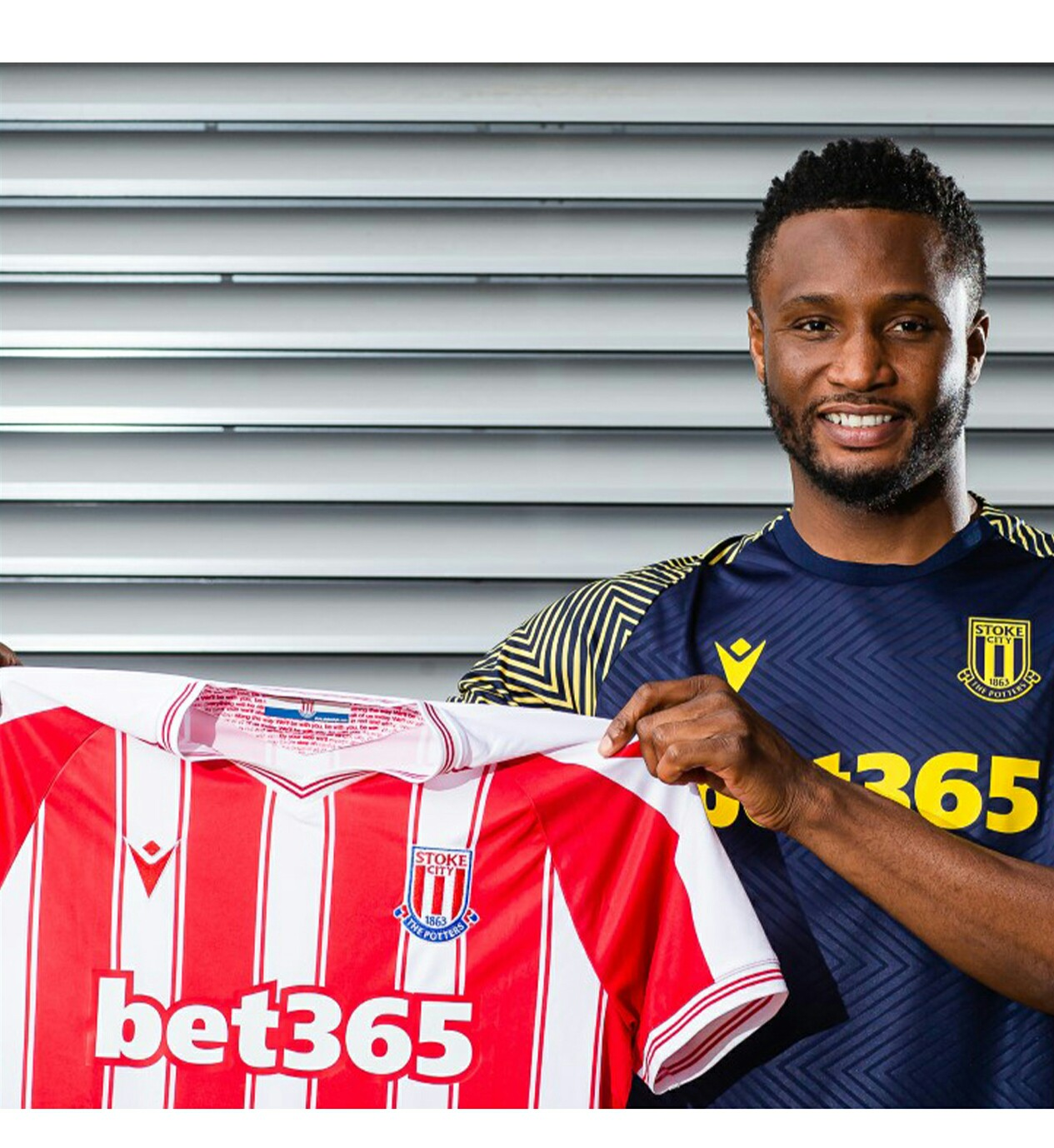 Mikel Gets Number 13 At Stoke City