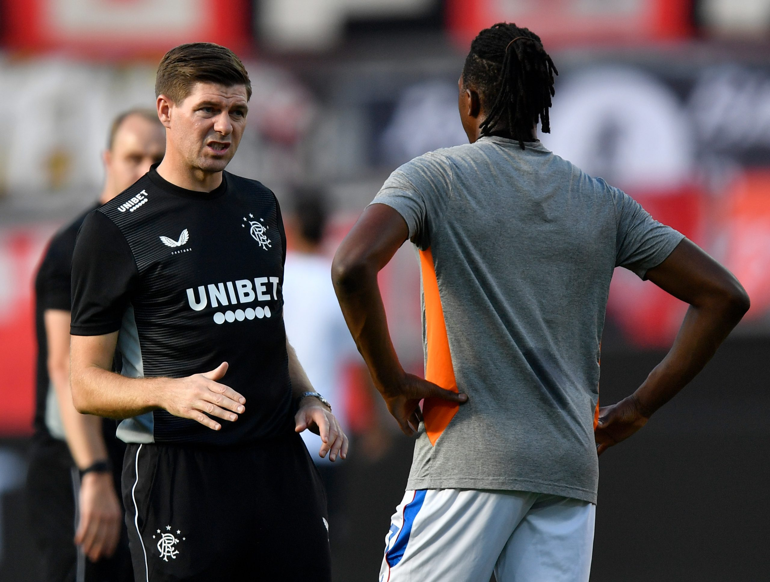 Gerrard Rues Aribo  Absence In Rangers' Draw Vs Livingston