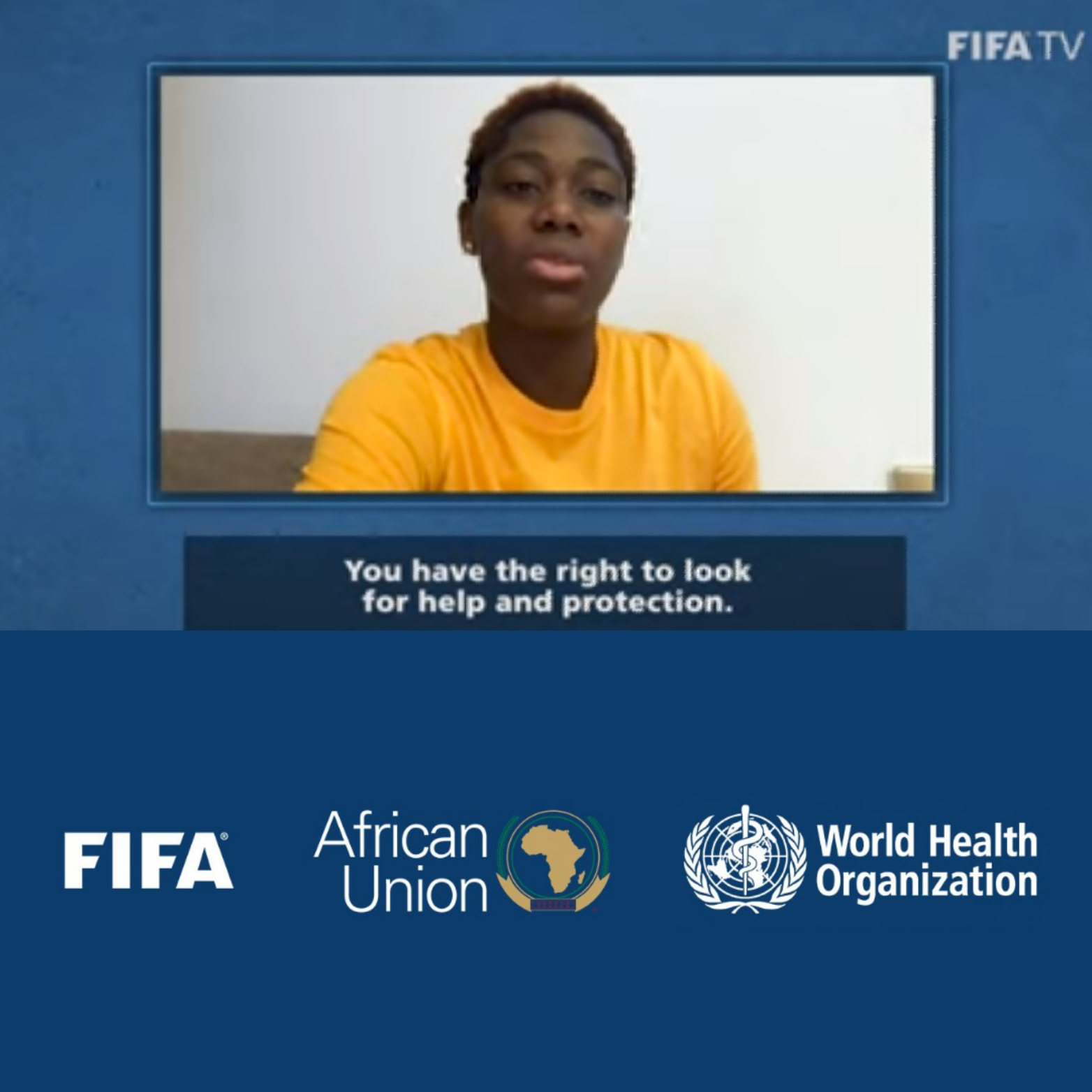 FIFA Teams Up With AU, WHO, CAF; Launches #SafeHome Campaign Against Domestic Violence In Africa