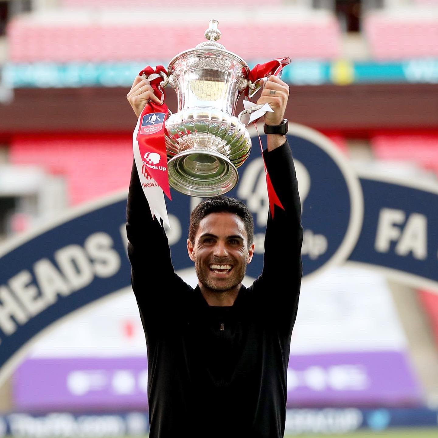Arteta Aims To Win Arsenal's 14th EPL Title With Spirit Of 14th FA Cup Success