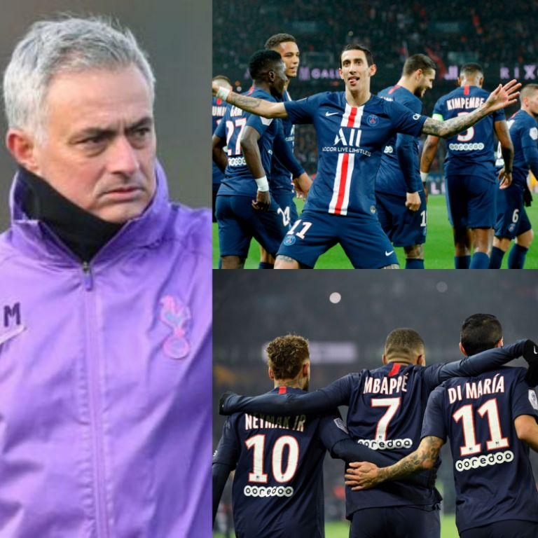 Mourinho Expects PSG To End Champions League Drought With Stars 'From Another World'
