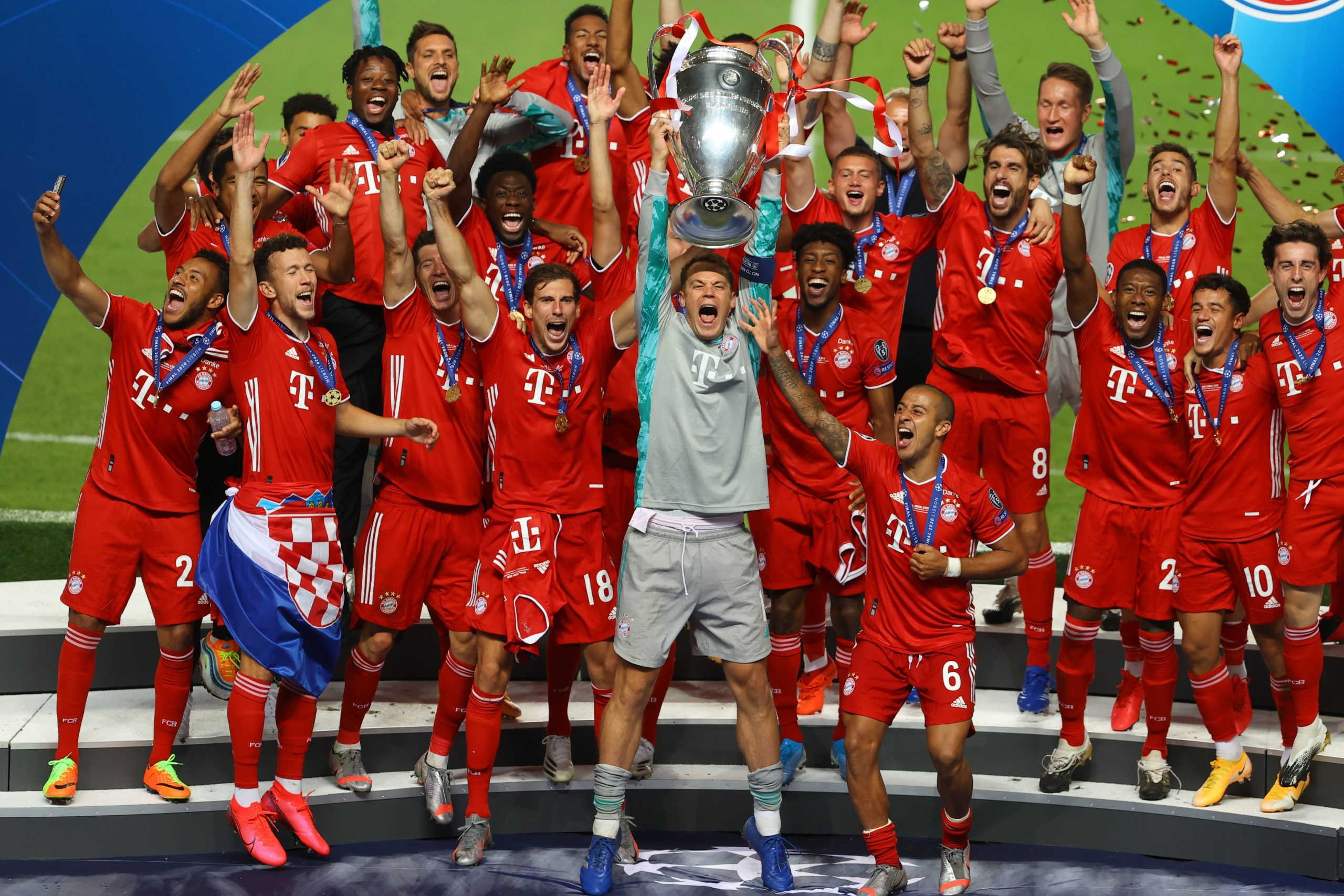 Update: Dominant Bayern Beat PSG, Clinch Record-Equalling Champions League Title
