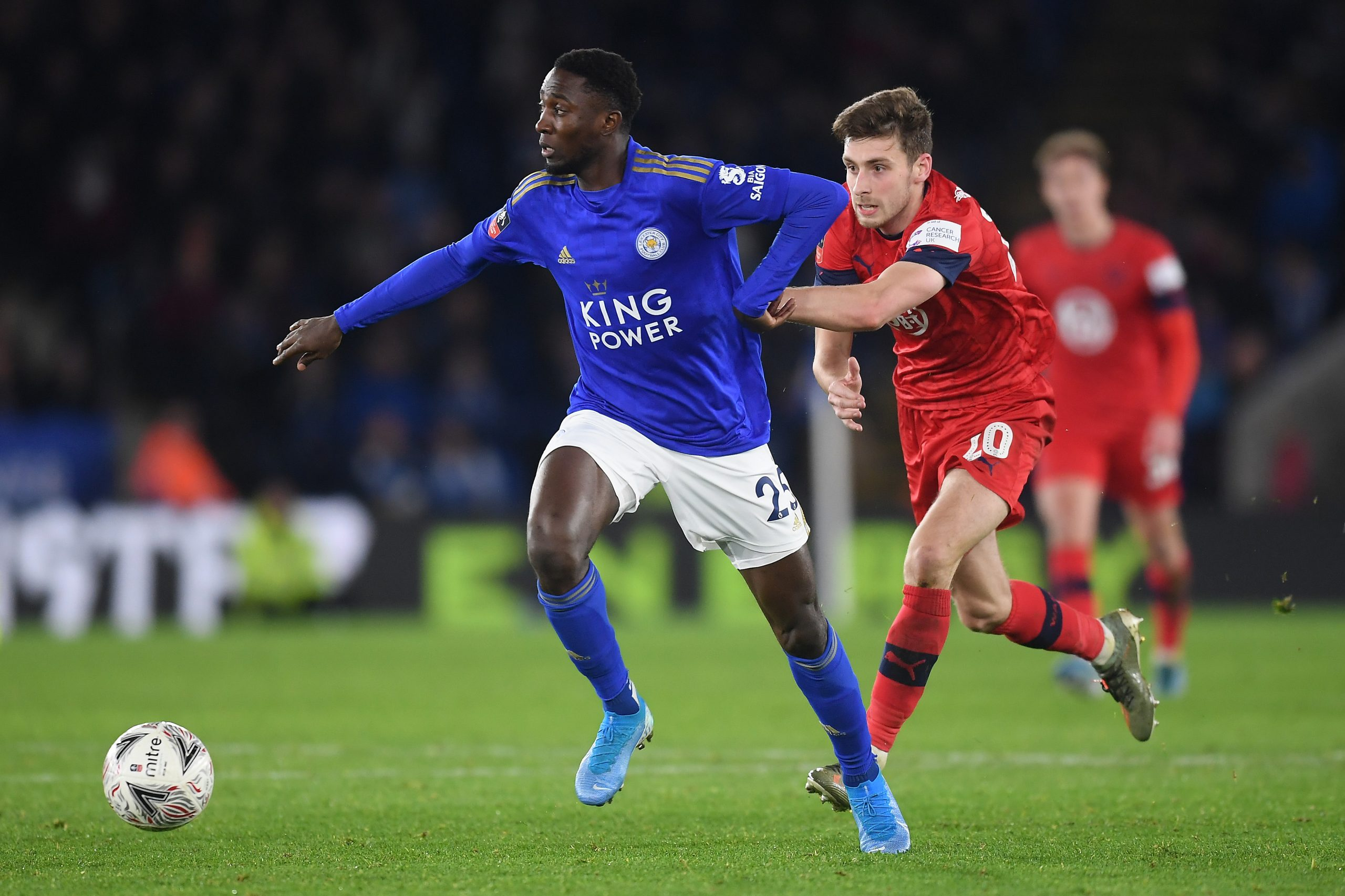 'He's Got The Attributes'- Rodgers Ready  To Deploy Ndidi As  A Centre-Back Vs West Brom