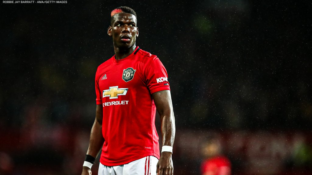 Pogba Won't Leave Manchester United In January- Agent