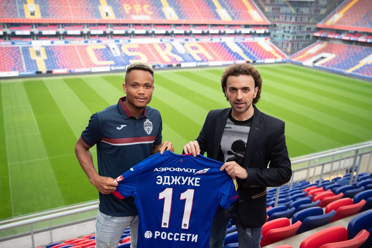 Heerenveen Chief Hamstra Pays Glowing  Tribute To  CSKA New Boy  Ejuke