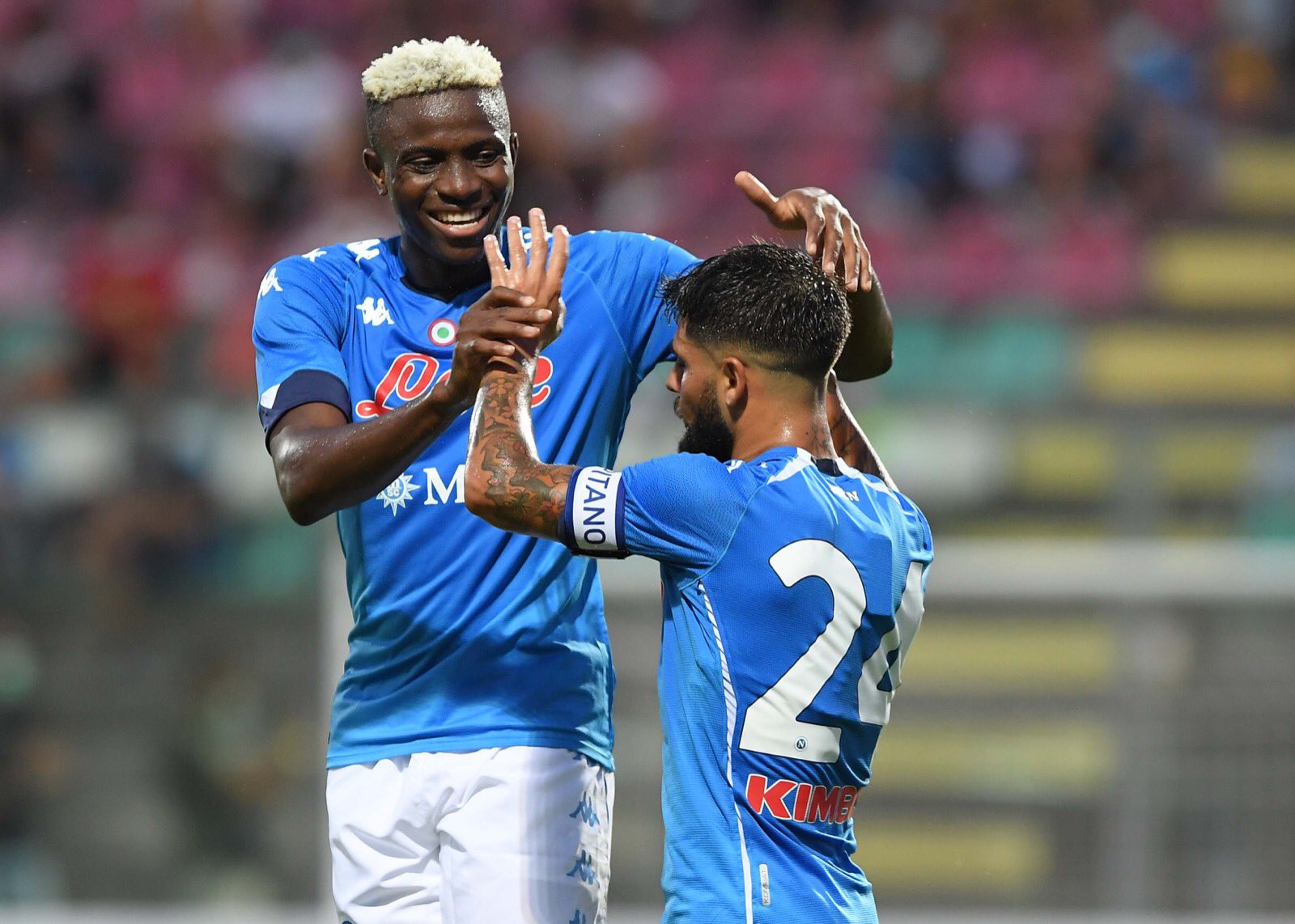 Serie A: Osimhen Makes Winning Debut As Napoli Beat Parma Away