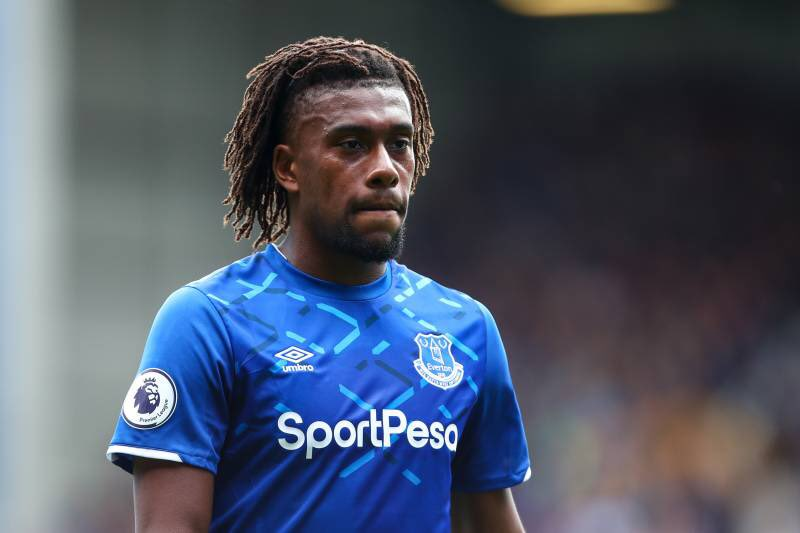 Bent Wants Zaha To Replace Iwobi At Everton