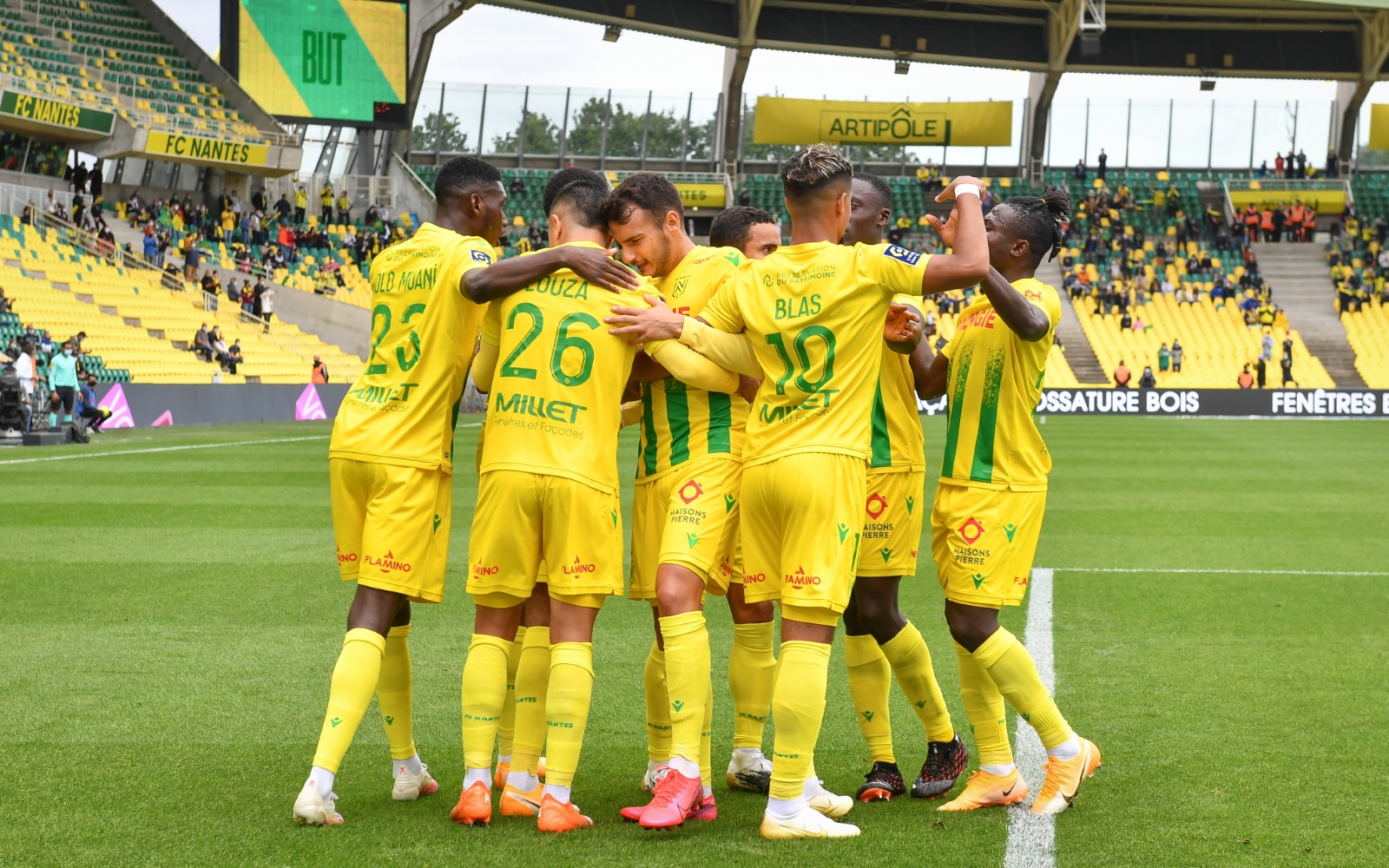 Ligue 1: Moses Relishes Nantes Win Over Nimes