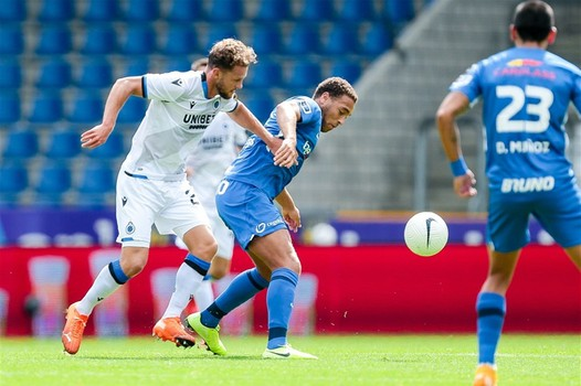 Dessers Rues Missed Penalty In Genk's Defeat To Club Brugge